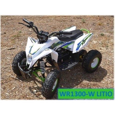 MINIQUAD ELECTRICO WR1300 LITIO
