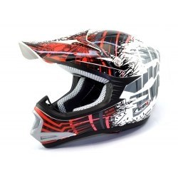CASCO SHIRO CROSS INFANTIL MX 306 BRIGADE KIDS