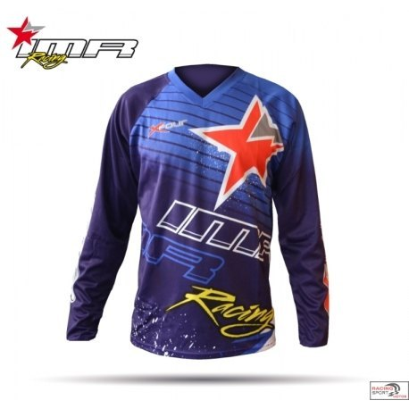 CAMISETA CROSS XFOUR COLOR AZUL ADULTO