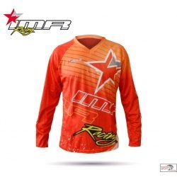 CAMISETA CROSS XFOUR COLOR NARANJA INFANTIL