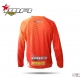 CAMISETA CROSS XFOUR COLOR NARANJA ADULTO
