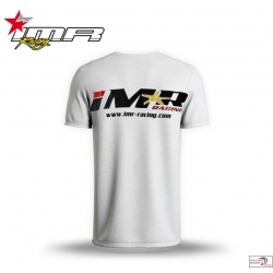 CAMISETA IMR ALGODON BASICA COLOR BLANCO