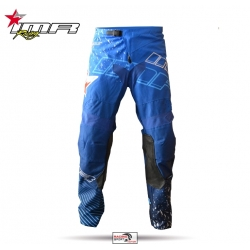 PANTALON CROSS IMR RACING XFOUR AZUL NIÑO