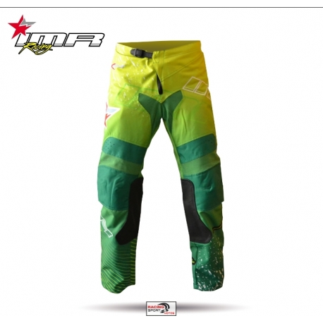 PANTALON CROSS IMR RACING XFOUR VERDE NIÑO