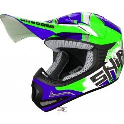 CASCO CROSS MX-306 BRIGADE II KIDS Fluor Green