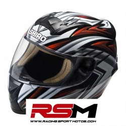 CASCO SHIRO SH-821 ACCEL ADULTO