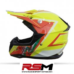 CASCO HT MX-112 AZUL CROSS INFANTIL