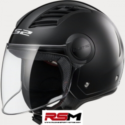 CASCO LS2-562 AIRFLOW NEGRO MATE