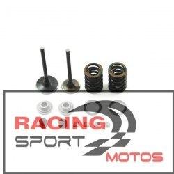 Kit  válvulas TbParts para culata KLX tipo V2 Race Head, válvulas EV8