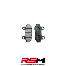 PASTILLAS FRENO DELANTERO 2 PISTONES IMR CORSE-K801 6 mm