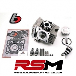 Culata completa TB Parts con balancines Rosas Arbol de levas Racing