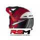 SWAPS CASCO CROSS ADULTO ROJO MATE